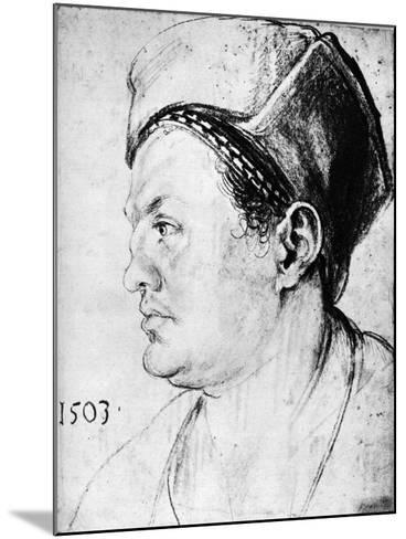 Willibald Pirckheimer, 1503-Albrecht Durer-Mounted Giclee Print