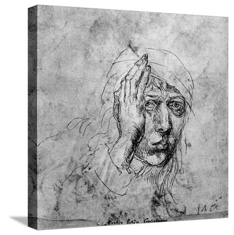 Self Portrait with a Bandage, 1492-Albrecht Durer-Stretched Canvas Print