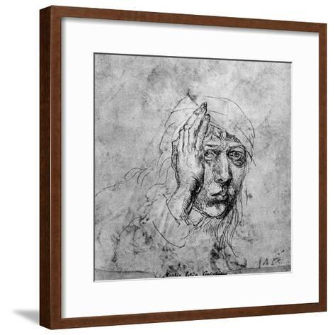 Self Portrait with a Bandage, 1492-Albrecht Durer-Framed Art Print
