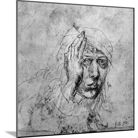 Self Portrait with a Bandage, 1492-Albrecht Durer-Mounted Giclee Print