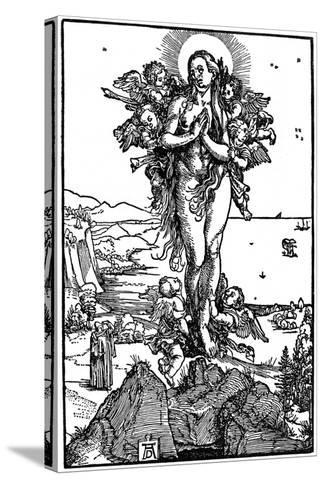 Ascension of Maria Magdalena, 1507-1510-Albrecht Durer-Stretched Canvas Print