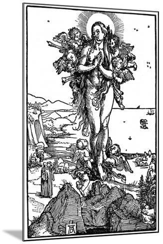 Ascension of Maria Magdalena, 1507-1510-Albrecht Durer-Mounted Giclee Print