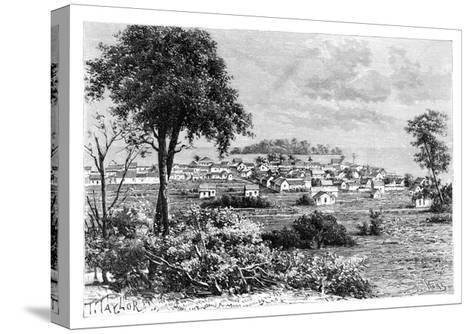 Port Limon and Uvas Island, C1890-A Kohl-Stretched Canvas Print