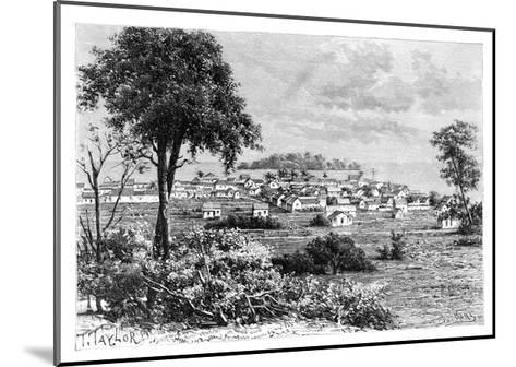 Port Limon and Uvas Island, C1890-A Kohl-Mounted Giclee Print