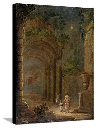 Landscape, End of 16th Century-Adam Elsheimer-Stretched Canvas Print