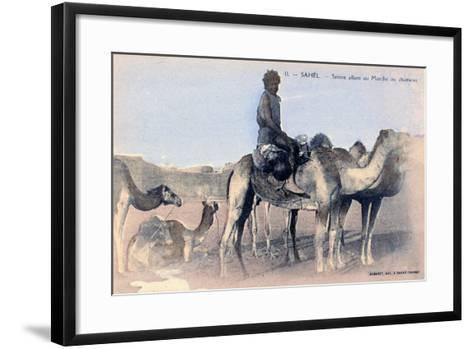 Serere, the Sahel, Senegal, 20th Century- Albaret-Framed Art Print