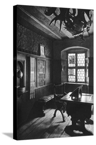 Albrecht Dürer's Work Room, Nuremberg, 1936-Albrecht Durer-Stretched Canvas Print