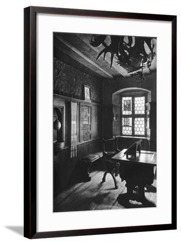 Albrecht Dürer's Work Room, Nuremberg, 1936-Albrecht Durer-Framed Art Print