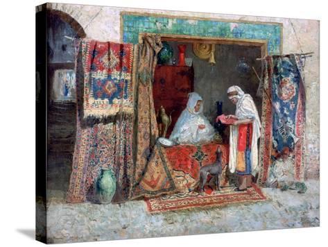Carpet Merchant, C1870-1913-Addison Thomas Millar-Stretched Canvas Print