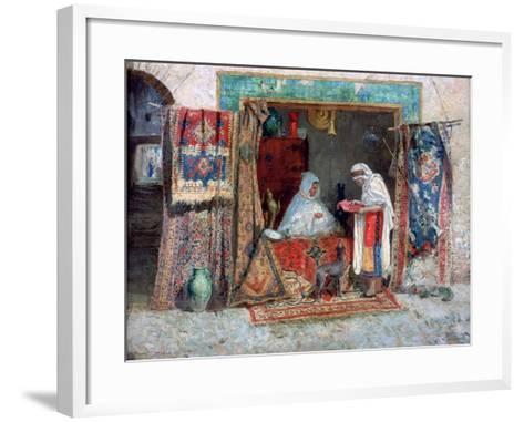 Carpet Merchant, C1870-1913-Addison Thomas Millar-Framed Art Print