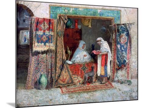 Carpet Merchant, C1870-1913-Addison Thomas Millar-Mounted Giclee Print