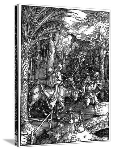 The Flight into Egypt, 1502-1505-Albrecht Durer-Stretched Canvas Print