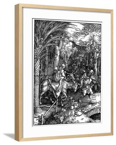 The Flight into Egypt, 1502-1505-Albrecht Durer-Framed Art Print