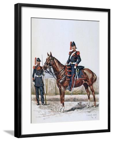 Parisian Republican Guard, 16 May 1848 - 1 Febuary 1849-A Lemercier-Framed Art Print