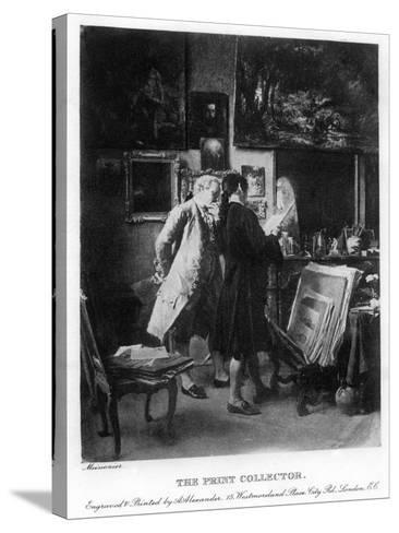 The Print Collector, 1908-1909-A Alexander-Stretched Canvas Print