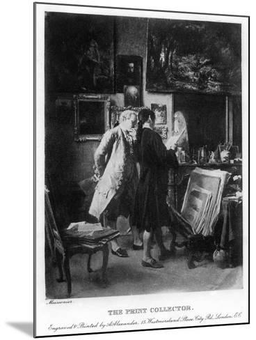 The Print Collector, 1908-1909-A Alexander-Mounted Giclee Print