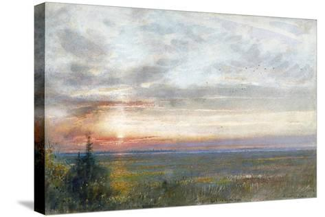 Venice from the Mainland, 1908-Albert Goodwin-Stretched Canvas Print