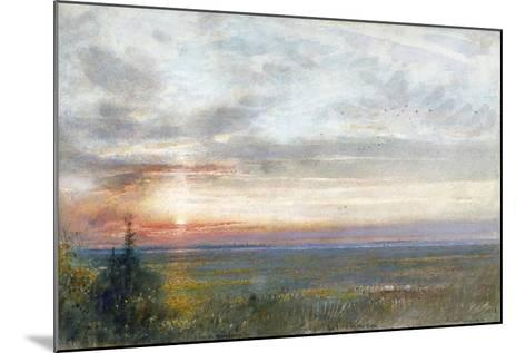 Venice from the Mainland, 1908-Albert Goodwin-Mounted Giclee Print