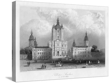 Kloster Smolnoi, Near St Petersburg, Russia, C1840-Albert Henry Payne-Stretched Canvas Print