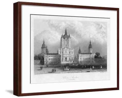 Kloster Smolnoi, Near St Petersburg, Russia, C1840-Albert Henry Payne-Framed Art Print