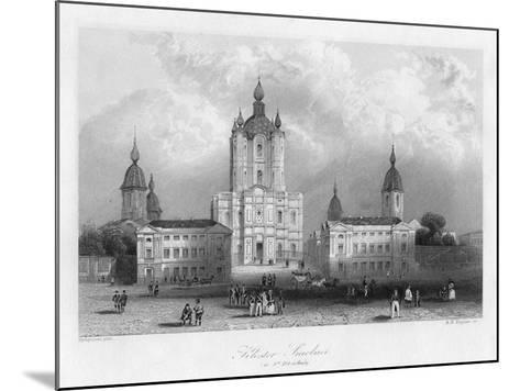 Kloster Smolnoi, Near St Petersburg, Russia, C1840-Albert Henry Payne-Mounted Giclee Print