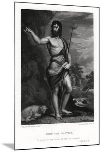 John the Baptist, 19th Century-A Rordorf-Mounted Giclee Print