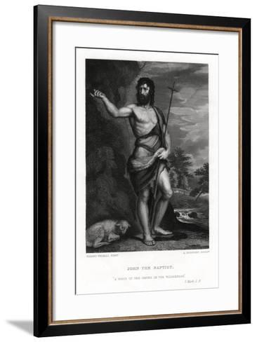 John the Baptist, 19th Century-A Rordorf-Framed Art Print