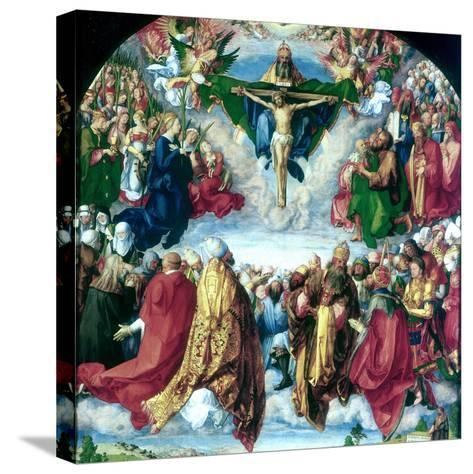 The Adoration of the Trinity (The Landauer Altarpiece), 1511-Albrecht Durer-Stretched Canvas Print