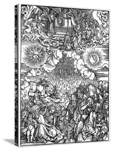 The Opening of the Fifth and Sixth Seals, 1498-Albrecht Durer-Stretched Canvas Print