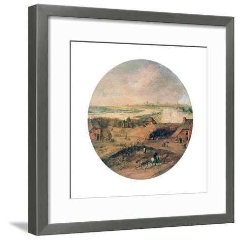 The Four Seasons, Autumn, C1600-Abel Grimmer-Framed Art Print