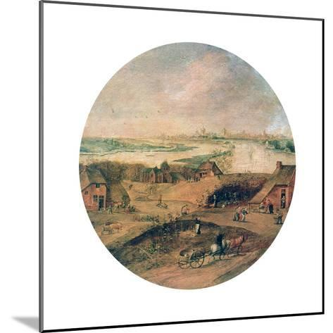 The Four Seasons, Autumn, C1600-Abel Grimmer-Mounted Giclee Print