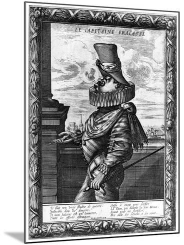 Capitaine Fracasse, C120-1670-Abraham Bosse-Mounted Giclee Print