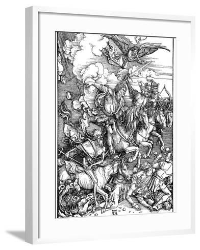 The Four Horsemen of the Apocalypse, 1498-Albrecht Durer-Framed Art Print