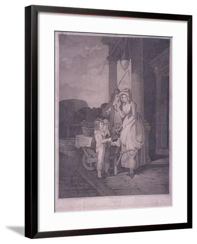 Round and Sound Fivepence a Pound Duke Cherries, Cries of London, 1795-Antoine Cardon-Framed Art Print