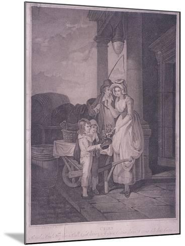 Round and Sound Fivepence a Pound Duke Cherries, Cries of London, 1795-Antoine Cardon-Mounted Giclee Print