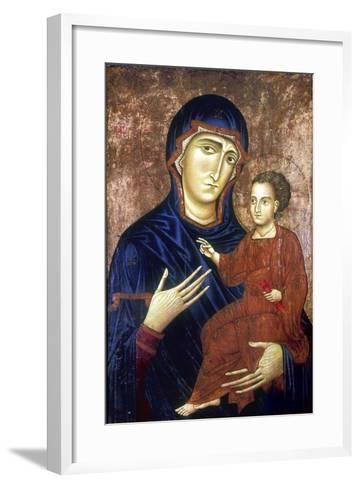 Madonna and Child, 1230-Barone Berlinghier-Framed Art Print