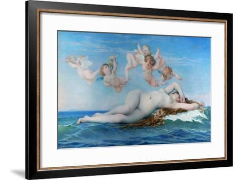 Birth of Venus, 1863-Alexandre Cabanel-Framed Art Print