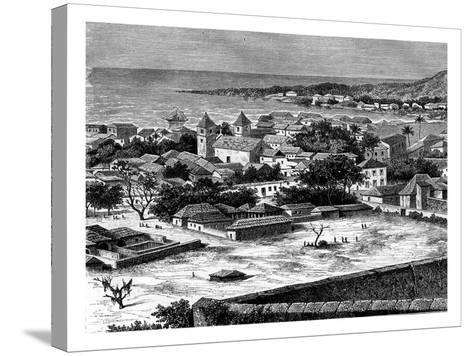 Sao Paulo, Luanda, Angola, 19th Century-Alexandre De Bar-Stretched Canvas Print