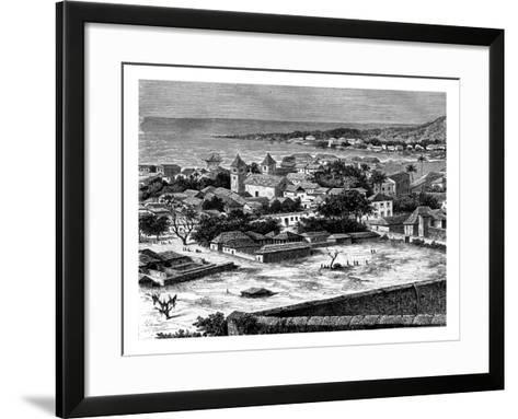Sao Paulo, Luanda, Angola, 19th Century-Alexandre De Bar-Framed Art Print