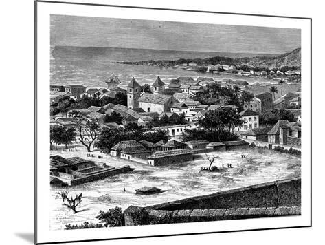Sao Paulo, Luanda, Angola, 19th Century-Alexandre De Bar-Mounted Giclee Print
