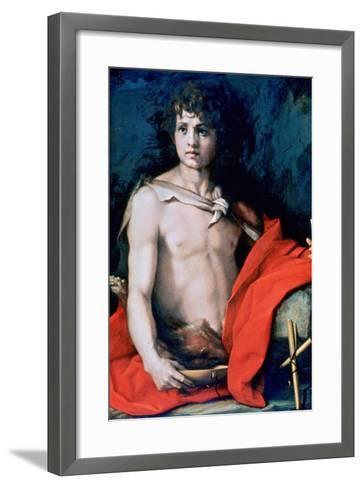 St John the Baptist, C1506-1530-Andrea del Sarto-Framed Art Print