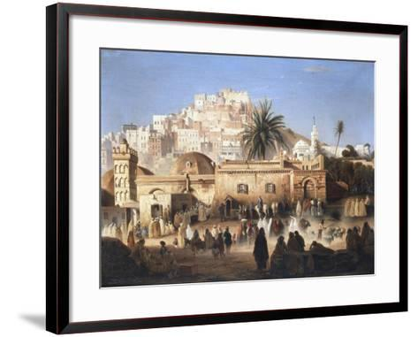 Mosque of El Mecolla, Algiers, C1821-1849-Antoine Victor Joinville-Framed Art Print