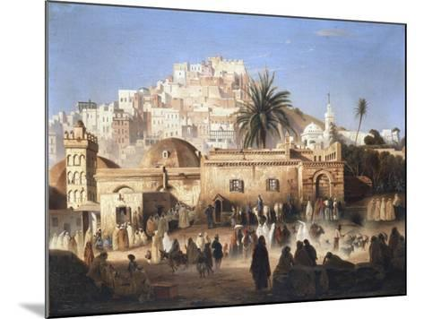 Mosque of El Mecolla, Algiers, C1821-1849-Antoine Victor Joinville-Mounted Giclee Print