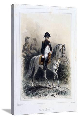 Napoleon I, 1859-Auguste Raffet-Stretched Canvas Print