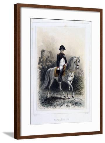 Napoleon I, 1859-Auguste Raffet-Framed Art Print