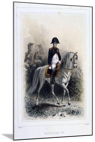 Napoleon I, 1859-Auguste Raffet-Mounted Giclee Print