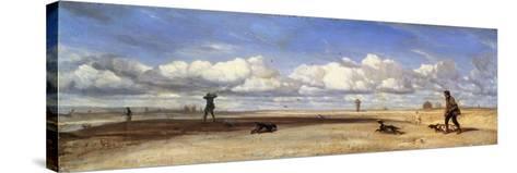 Duck Hunters, 1843-Alexandre Gabriel Decamps-Stretched Canvas Print