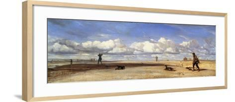 Duck Hunters, 1843-Alexandre Gabriel Decamps-Framed Art Print