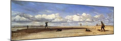 Duck Hunters, 1843-Alexandre Gabriel Decamps-Mounted Giclee Print