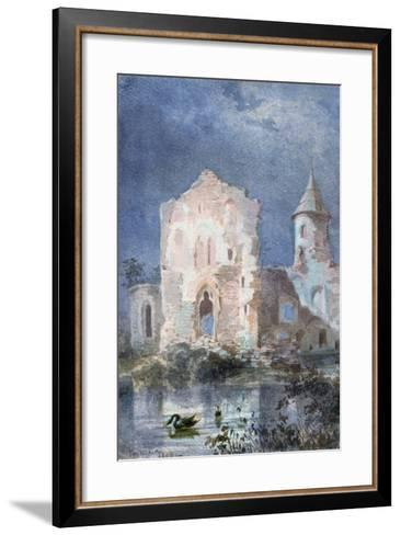 Landscape of Eygue, 1833-Alexandre Pouchkine-Framed Art Print